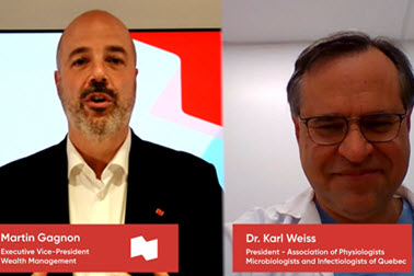 Martin Gagnon speaks with Dr. Karl Weis