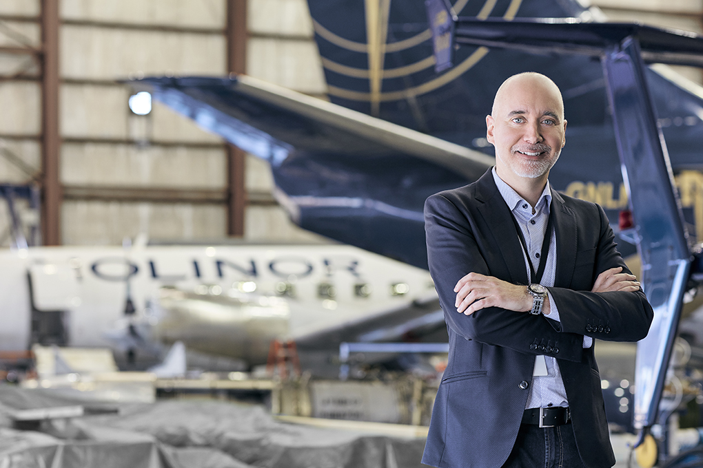 Marco Prud'Homme, Vice-President of Nolinor Aviation